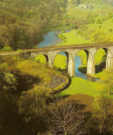 Viaduct in Monsal Dale