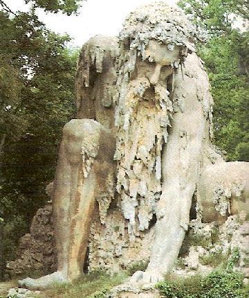 Statua nel parco Pratolino